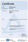 TÜV ISO Certificate