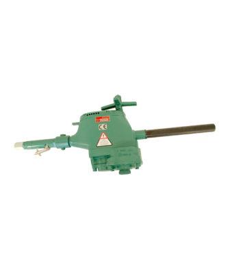 Bohrmaschine mit Vorschubspindel